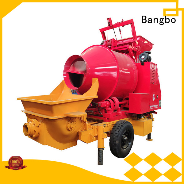 Professional concrete mixers manufacturer for engineering construction
