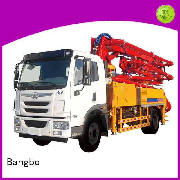 High performance cement pump truck factory for construction projects
