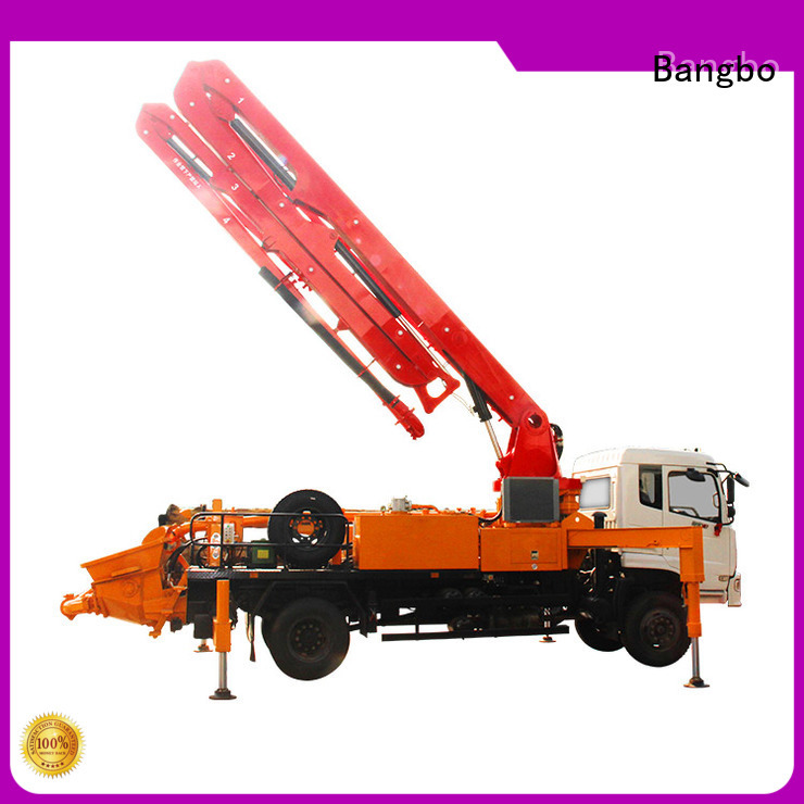 Bangbo Durable concrete pump truck manufacturers company for construction industry