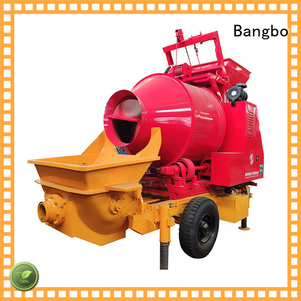 Bangbo concrete mixer machine manufacturer for construction projects