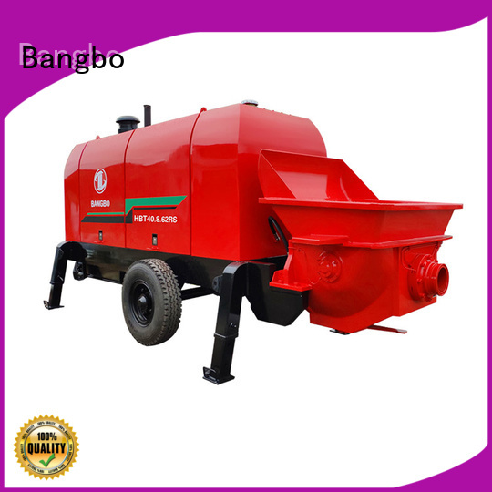 Great concrete pump stationary factory for construction project