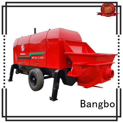 Bangbo Professional concrete pump manufacturer factory for construction industry
