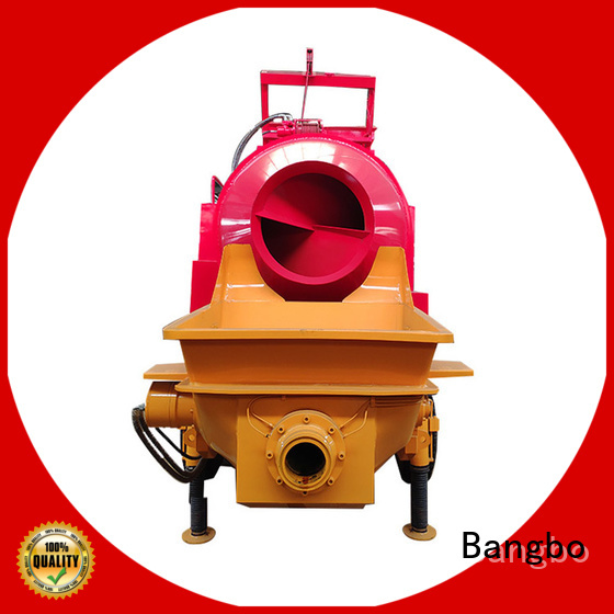 Bangbo concrete mixer and pumping machine company for engineering construction
