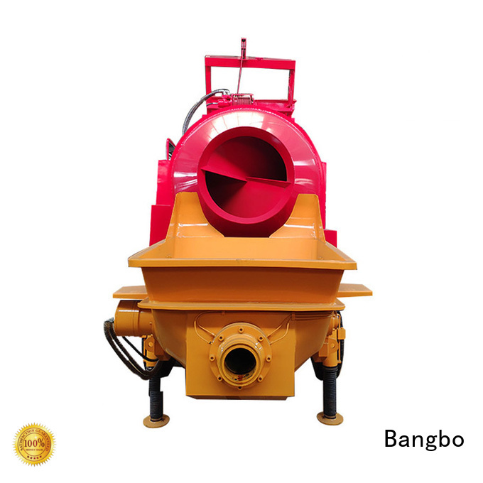 Bangbo concrete mixers factory for engineering construction