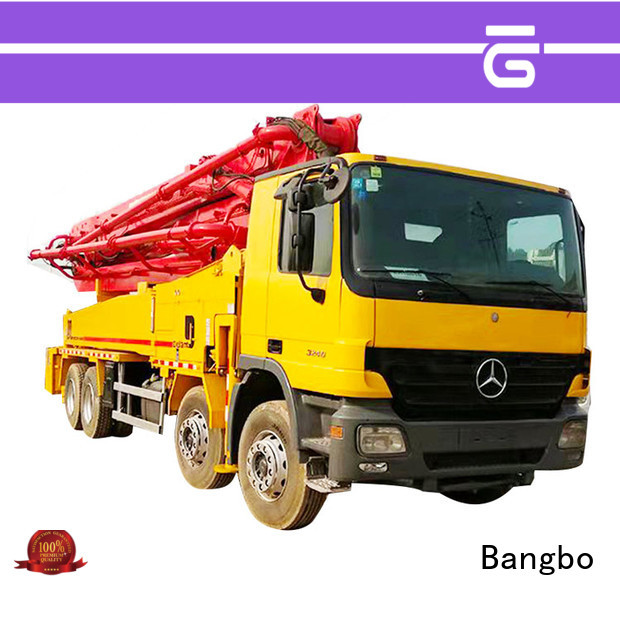 Bangbo cement pump truck company for engineering construction