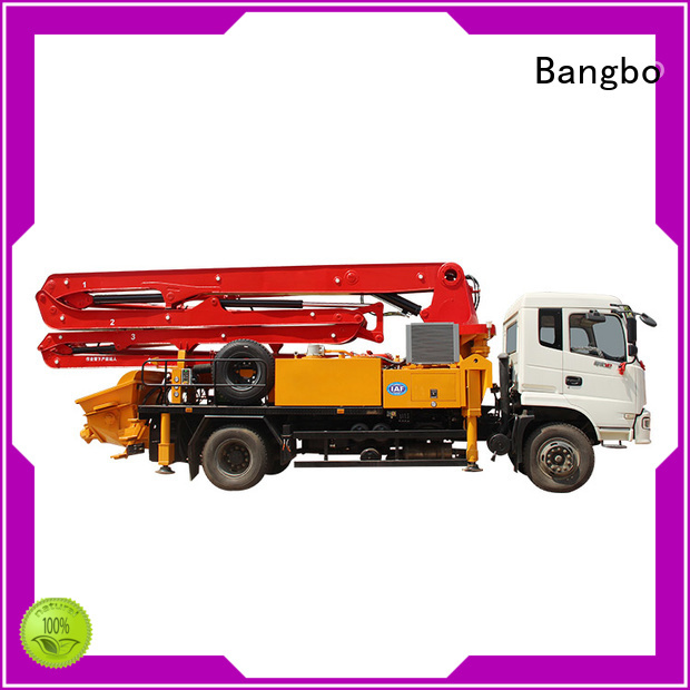 Bangbo Great concrete mixer truck companies supplier for engineering construction