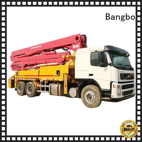 Bangbo pump truck company for construction projects