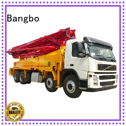 Bangbo concrete mixer pump truck factory for engineering construction