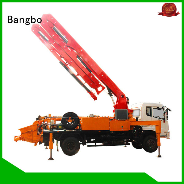 Bangbo cement pump truck supplier for construction industry
