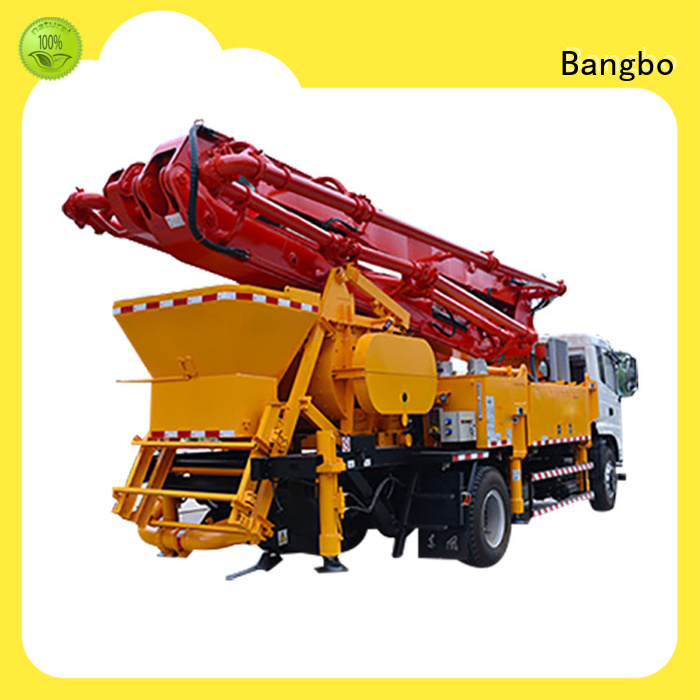 Bangbo Professional concrete line pump manufacturer for construction project