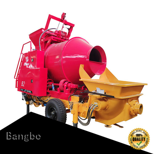 Bangbo Durable concrete mixer with pump factory for engineering construction