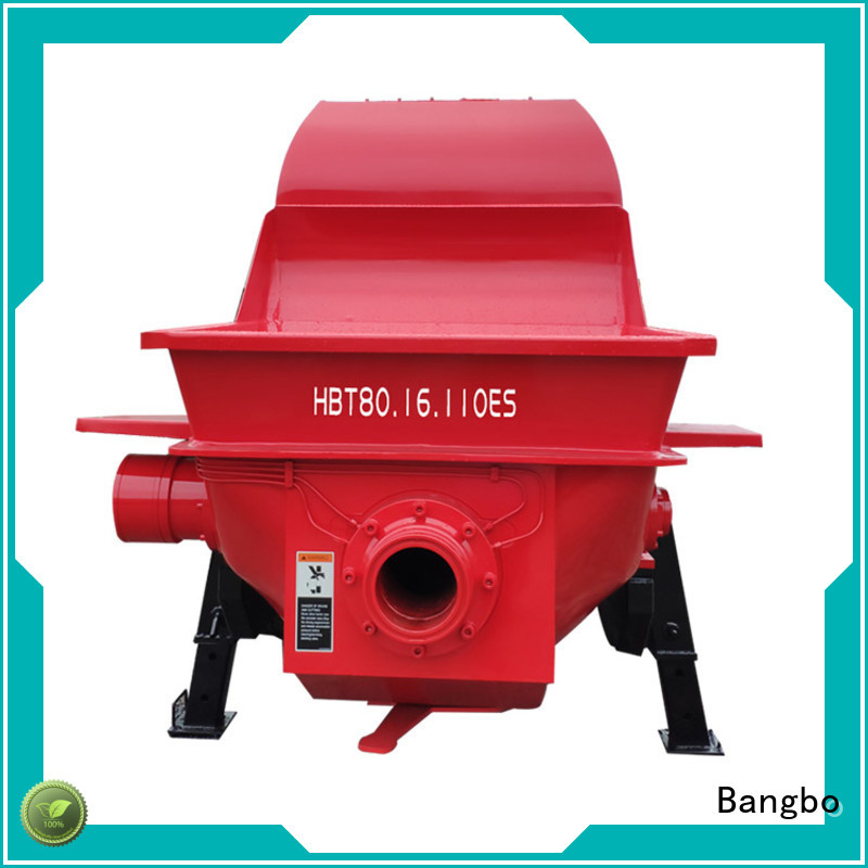 Bangbo Durable concrete pump stationary factory for construction industry