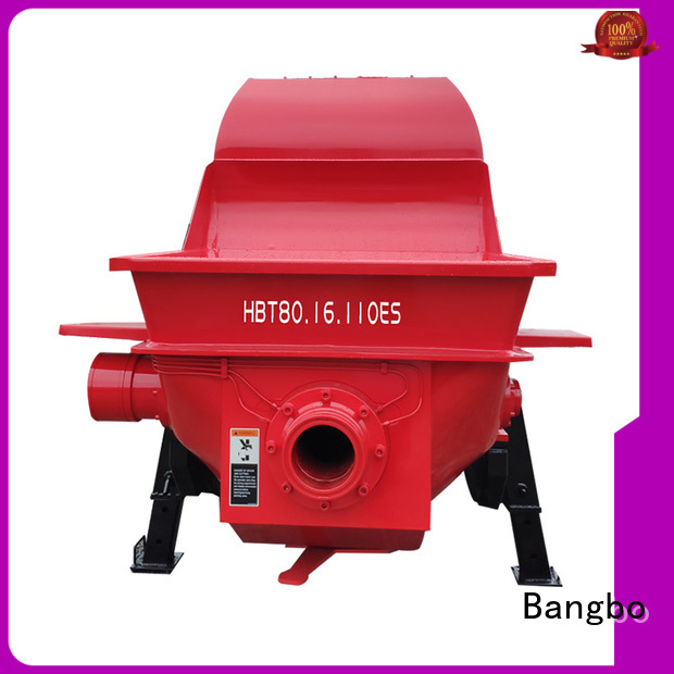 Bangbo fixed concrete pump manufacturer for engineering construction