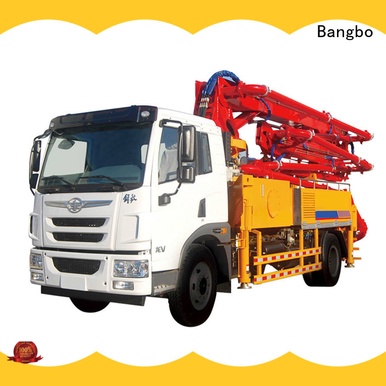 Bangbo concrete pumper factory for engineering construction
