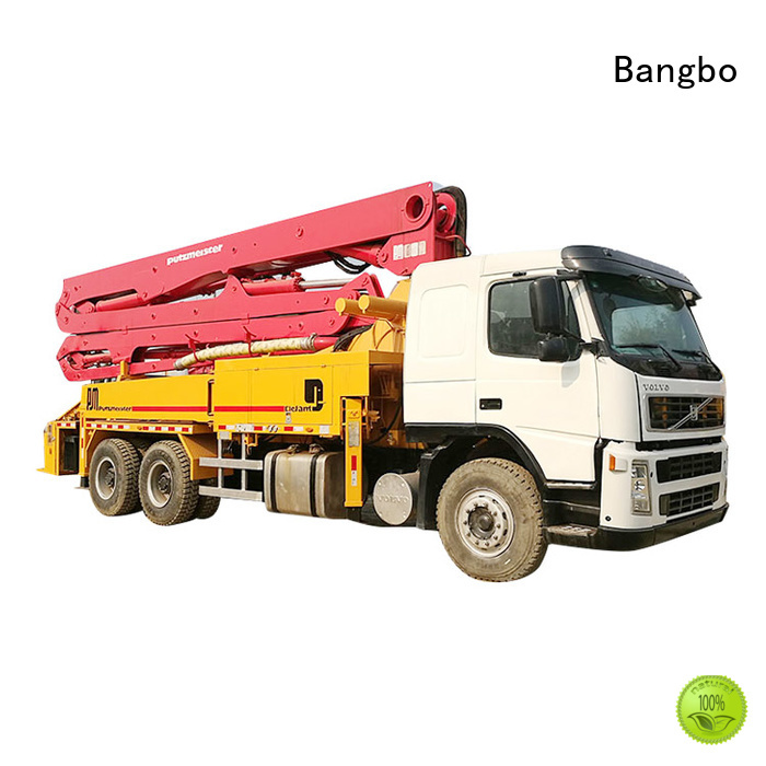 Bangbo concrete mixer truck companies supplier for construction industry