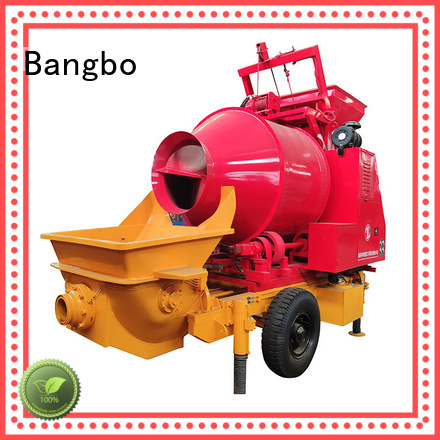 Bangbo concrete mixer and pumping machine manufacturer for construction projects