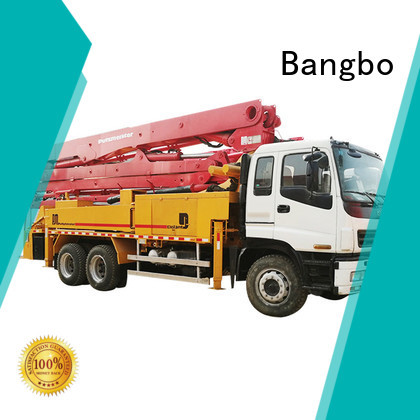Bangbo buy concrete pump truck factory for construction industry