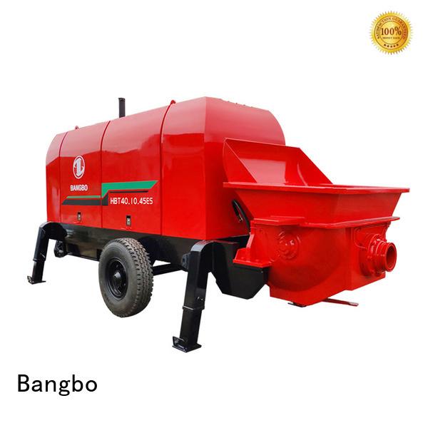 Durable concrete pumping equipment manufacturer for construction project