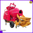 Bangbo concrete mixer and pumping machine company for construction projects