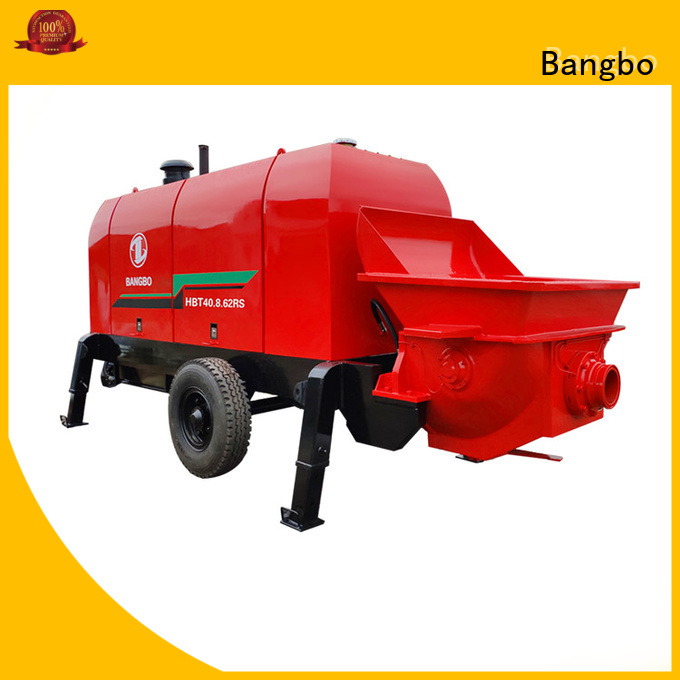 Bangbo Durable concrete pump stationary supplier for construction project