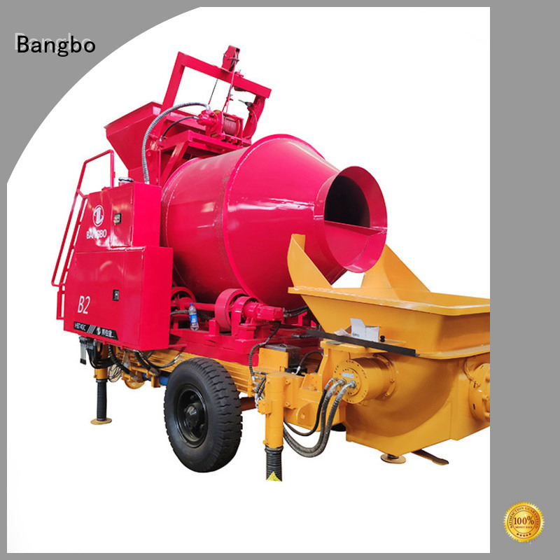 Durable concrete mixer and pumping machine company for construction industry