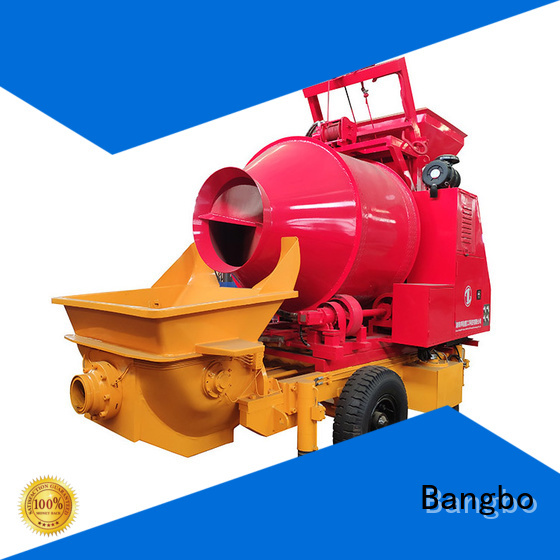 Durable cement mixer with pump manufacturer for construction industry