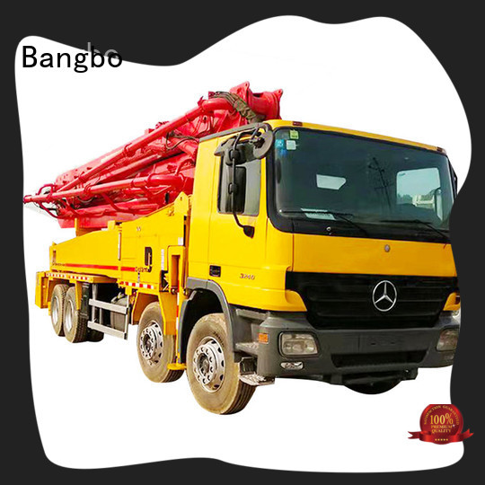 Bangbo concrete pump truck supplier for construction industry