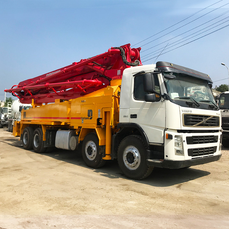 Hot  product  42M  putzmeister  boom  concrete  pump truck